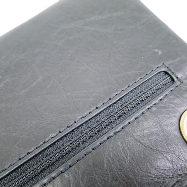 Chanel Black Calfskin Double Flap Reissue 2.55 Shoulder Bag
