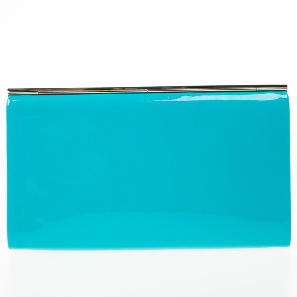 Jimmy Choo Cayla Patent Leather Clutch
