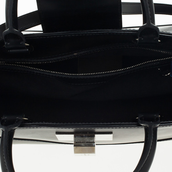 Louis Vuitton Black Epi Mirabeau Tote