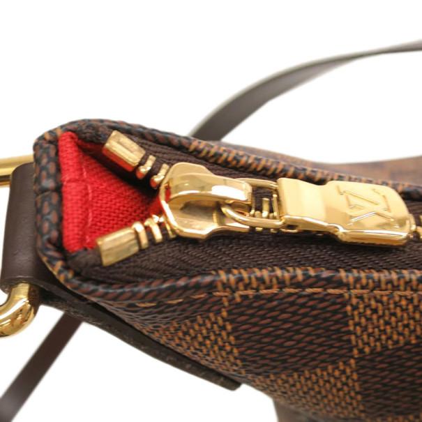 Louis Vuitton Damier Ebene Bloomsbury Shoulder Bag PM