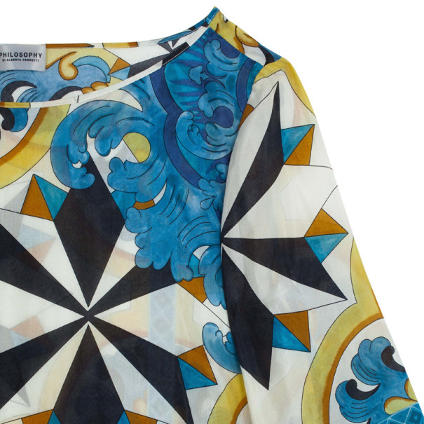 Philosophy di Alberta Ferretti Silk Ceramic Tile Top S