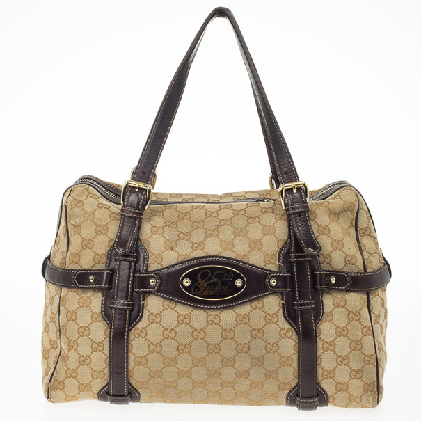 Gucci Guccissima 85th Anniversary Large Boston Bag 24241 At Best Price Tlc