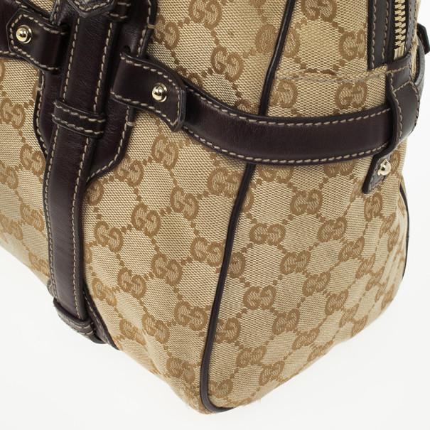 Gucci Guccissima 85th Anniversary Large Boston Bag