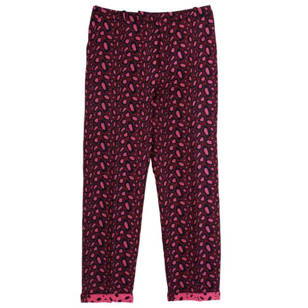 Kenzo Leopard Jacquard Skinny Pants XL