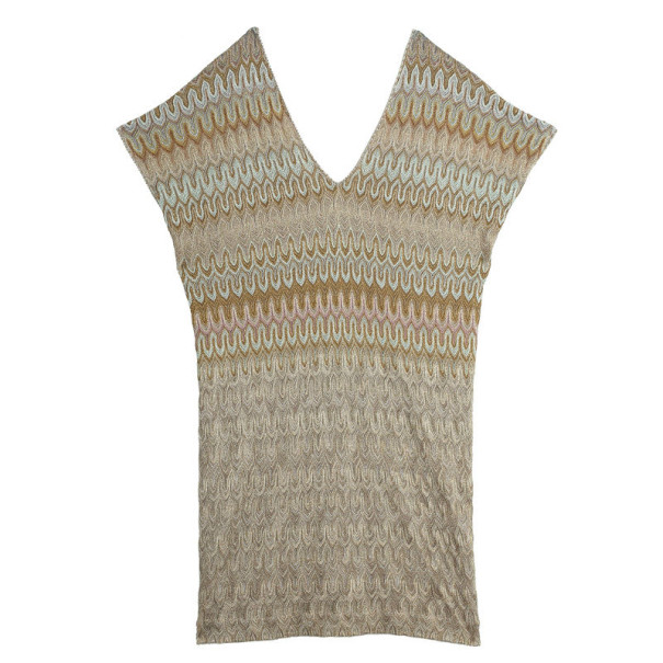 Missoni V Neck Tunic Dress M