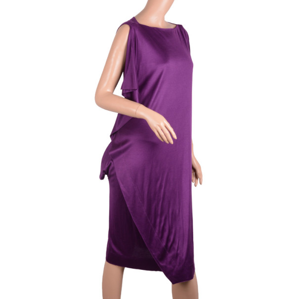 Bottega Veneta Fall 2010 Purple Dress M