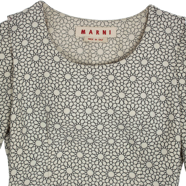 Marni Daytime Printed Shift Dress XS