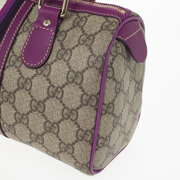 Gucci Purple Limited Edition Small Joy Boston Bag
