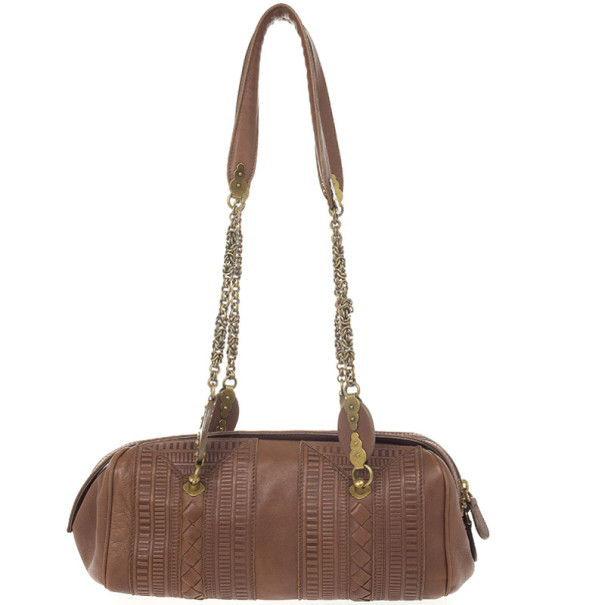 Bottega Veneta Small Zip Satchel