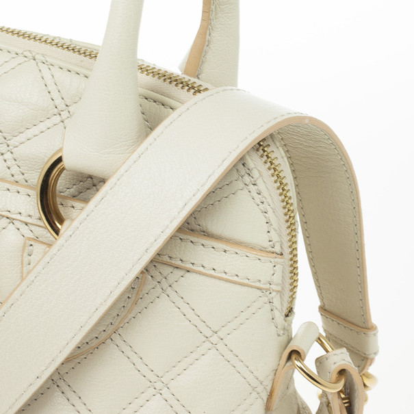Marc Jacobs Quilted Leather Margot Satchel