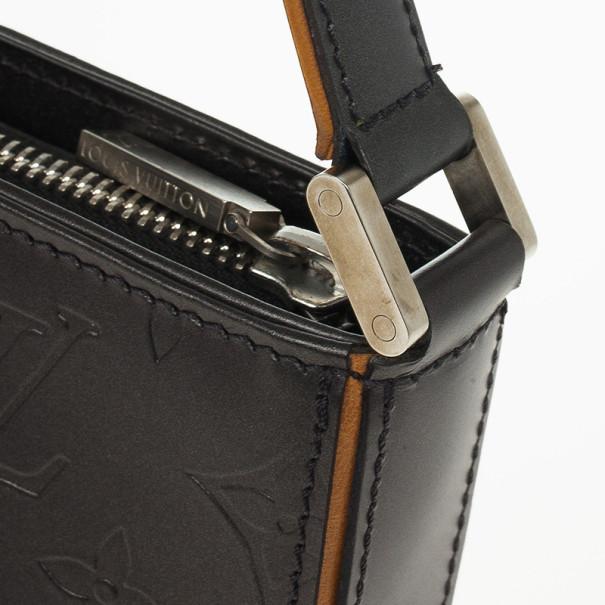Louis Vuitton Pewter Monogram Mat Fowler Shoulder Bag