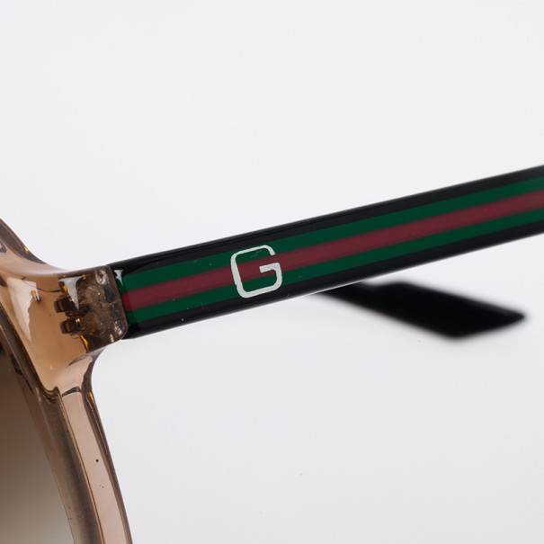 Gucci Brown Unisex Aviators