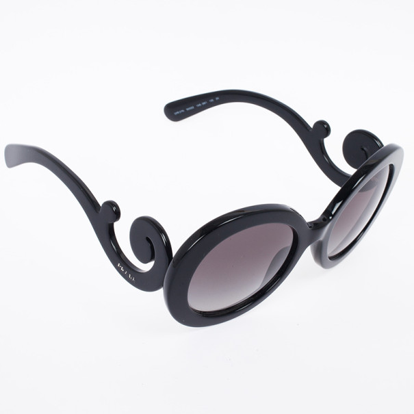 Prada Round Baroque Woman Sunglasses