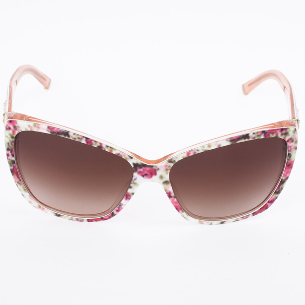 Dolce and Gabbana Floral Print Woman Sunglasses