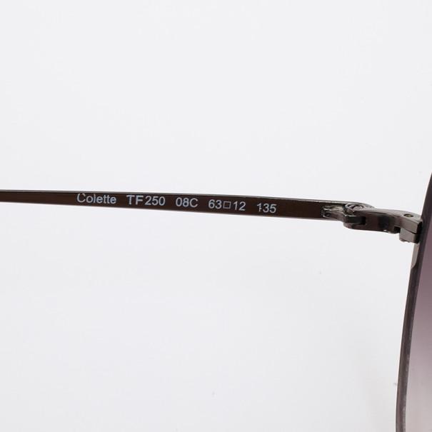 Tom Ford Silver Colette Woman Sunglasses