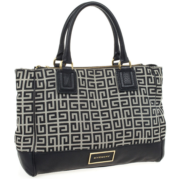 Givenchy Black Monogram Tote