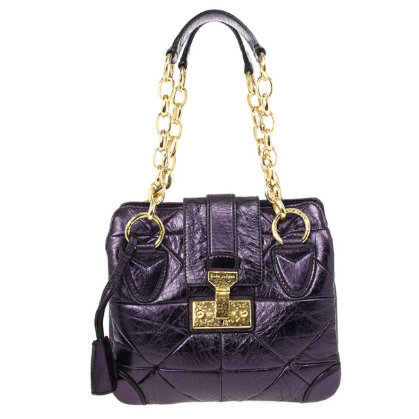 Marc Jacobs Mariah Mettalic Bag