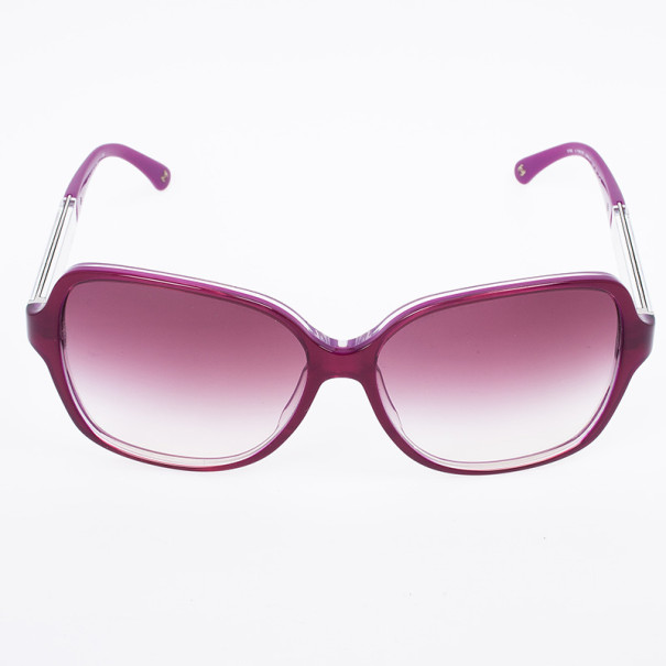 Chanel Pink 5168 Oversized Square Miroir Collection Woman Sunglasses