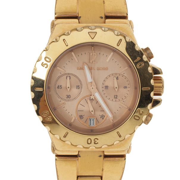 Michael Kors Gold Plated Womens Watch 36 MM