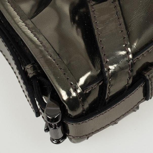 Burberry Metallic Clutch