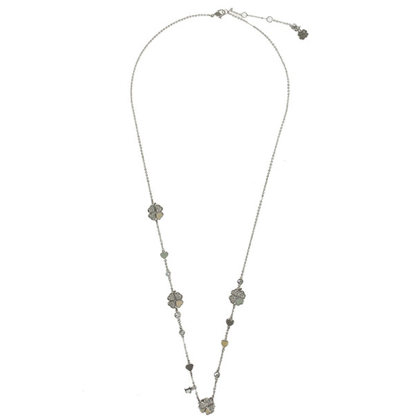Christian Dior Four Leaves Necklace