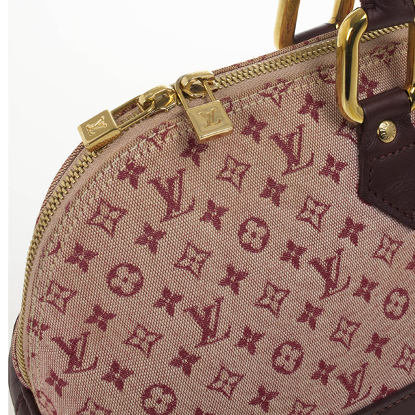Louis Vuitton Mini Lin Horizontal Alma