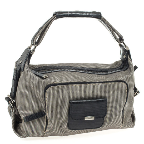 Tod's Canvas Hobo