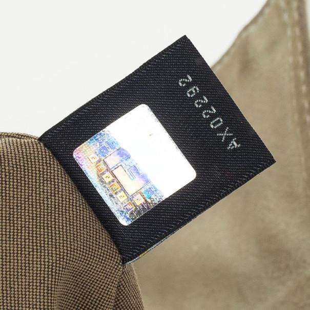 Fendi White Patent Shoulder Bag