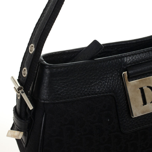 Christian Dior Canvas Small Shoulder Bag