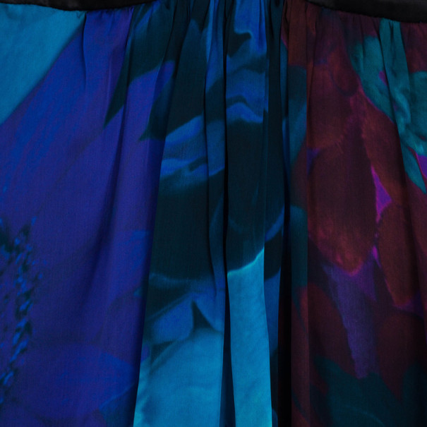 Roberto Cavalli Silk Chiffon Baby Doll Dress S
