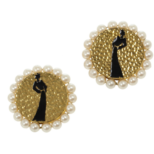 Chanel Mademoiselle Vintage Earrings