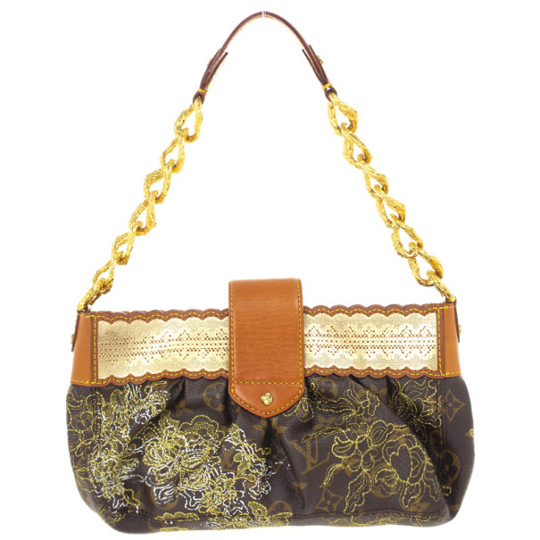 Louis Vuitton Limited Edition Monogram Dentelle Kirsten Bag