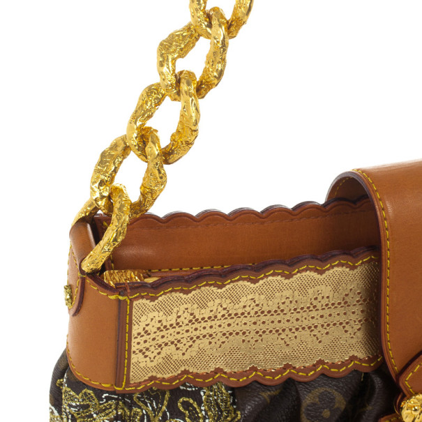 Louis Vuitton Limited Edition Monogram Dentelle Kirsten Bag