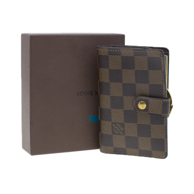 Louis Vuitton Damier Ebene French Purse Wallet