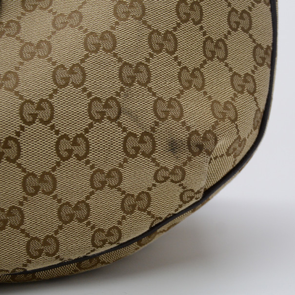 Gucci Monogram Dressage Hobo