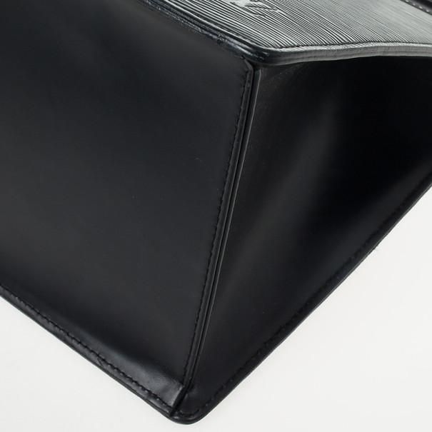 Louis Vuitton Black Epi Leather Riviera Bag