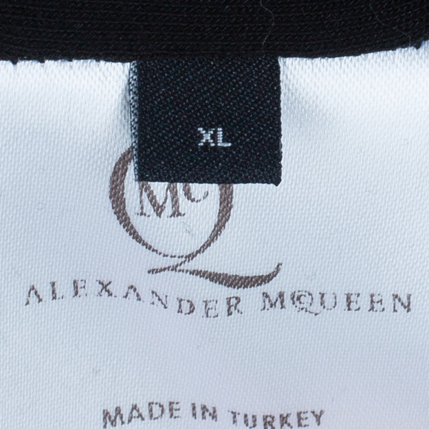 McQ by Alexander Mcqueen Long Sleeve Zip Detail Dress XL