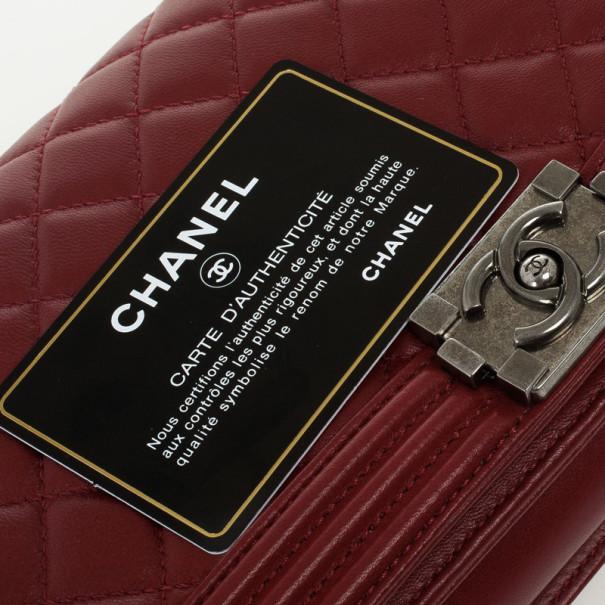 Chanel Boy Flap Clutch Bag