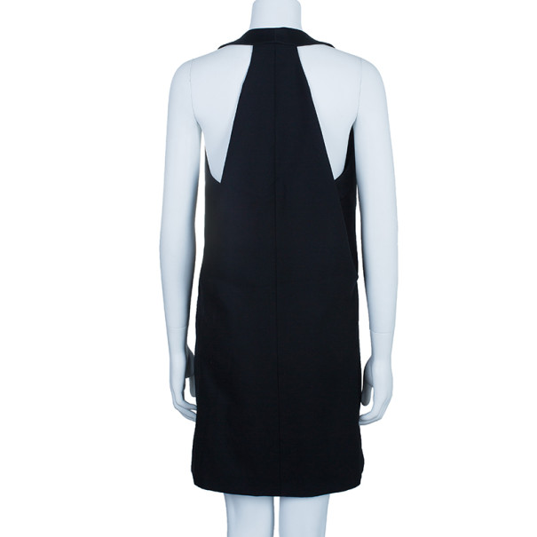 McQ by Alexander McQueen Black V-Neck Flared Dress M