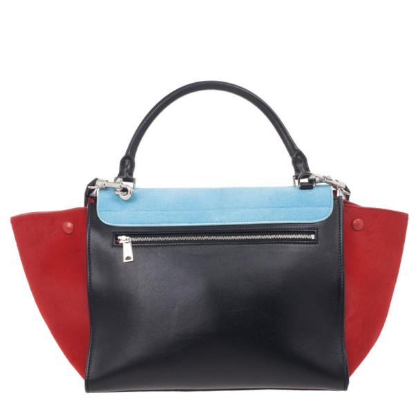 celine bag sale online - Celine Tricolor Medium Pony Hair Trapeze Bag - Buy & Sell - LC