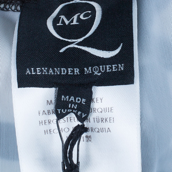 McQ by Alexander McQueen Bird Print Leggings L