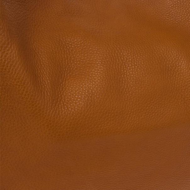 Gucci Brown Leather 'Gucci Heritage' Web Striped Hobo