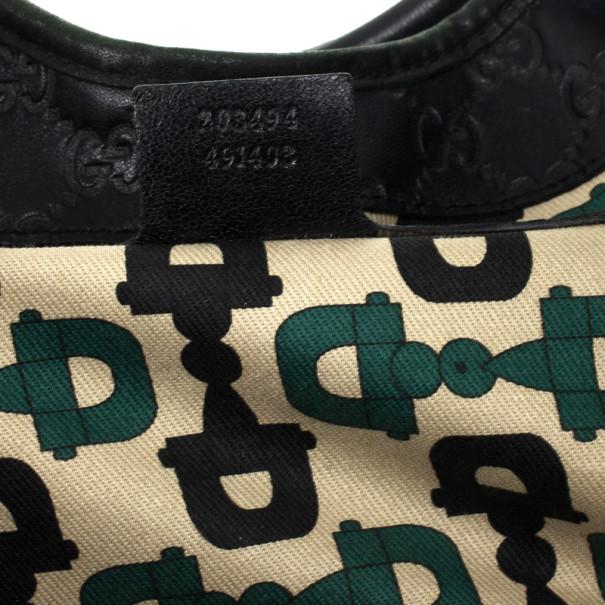 Gucci Black Guccissima Bardot 'Joy' Shoulder Bag