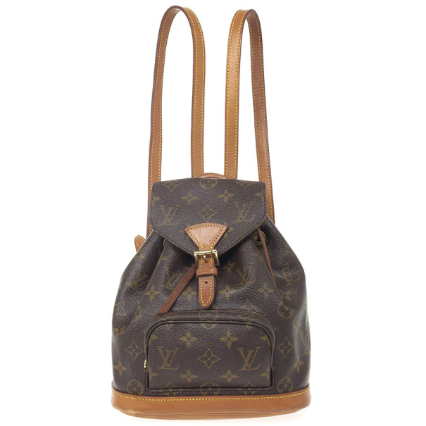 Louis Vuitton Monogram Montsouris PM Backpack