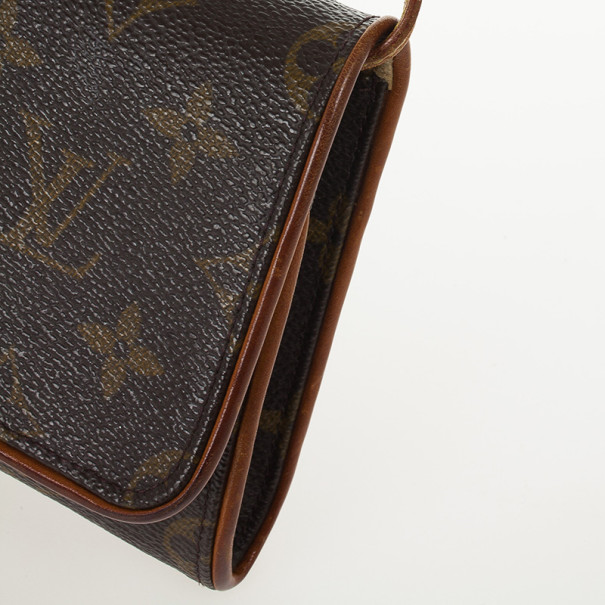 Louis Vuitton Pochette Monogram Twin GM Shoulder Bag
