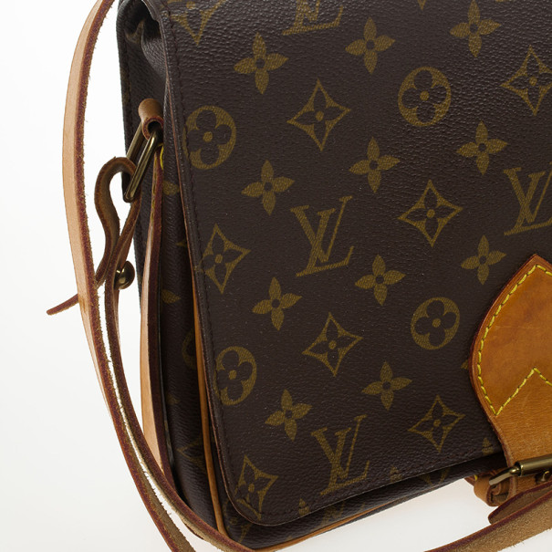 Louis Vuitton Monogram Cartouchiere GM