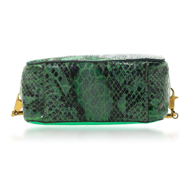 Stella McCartney Green Waverly Small Cross Body Bag