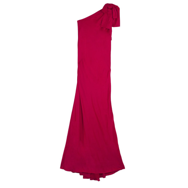 Valentino One Shoulder Gown M