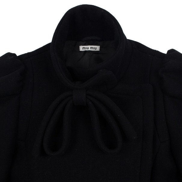 Miu Miu Black Wool Jacket S