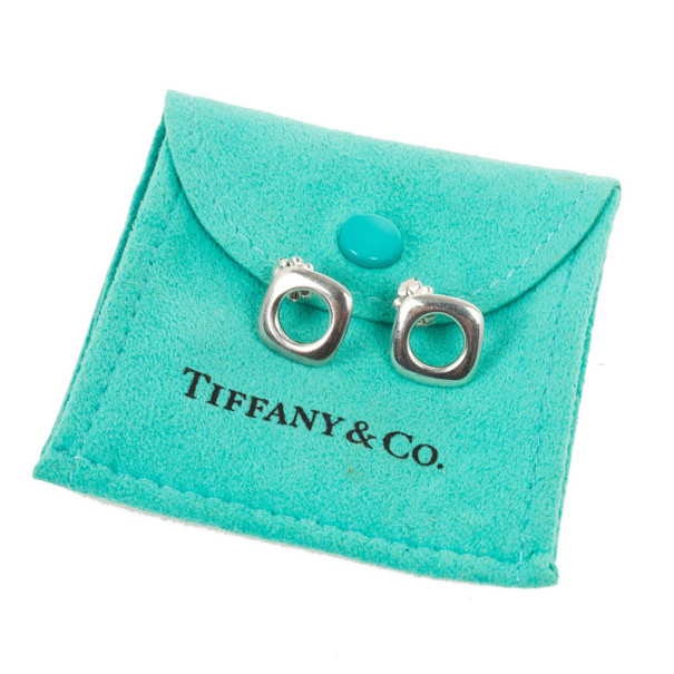 Tiffany & Co. Square Earrings
